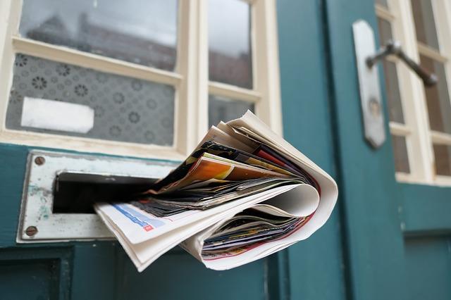 新聞 郵便受け 入らない