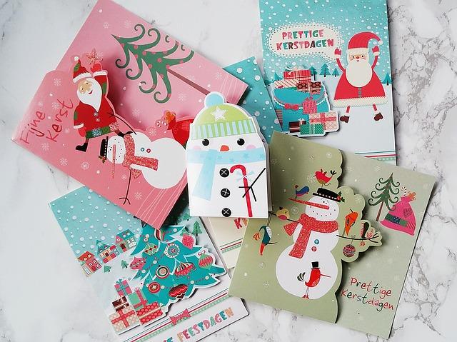郵便 クリスマスカード 封筒